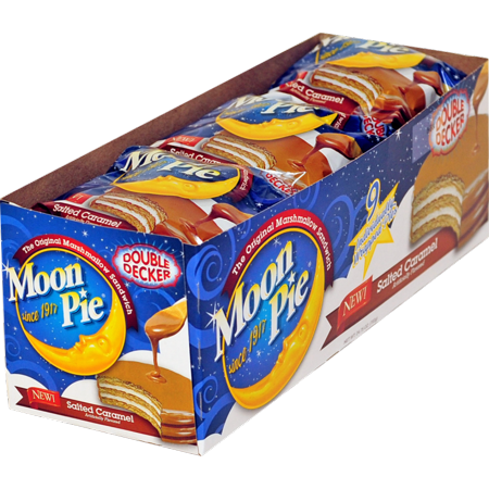 81 PACKS : MOON PIE DOUBLE DECKER STRAWBERRY - Halloween Moonpies