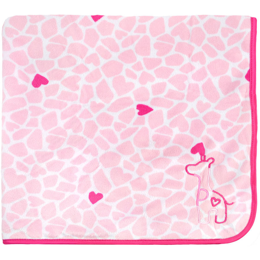 Child of Mine by Carter's Newborn Baby Girl 2-Ply Valboa Blanket