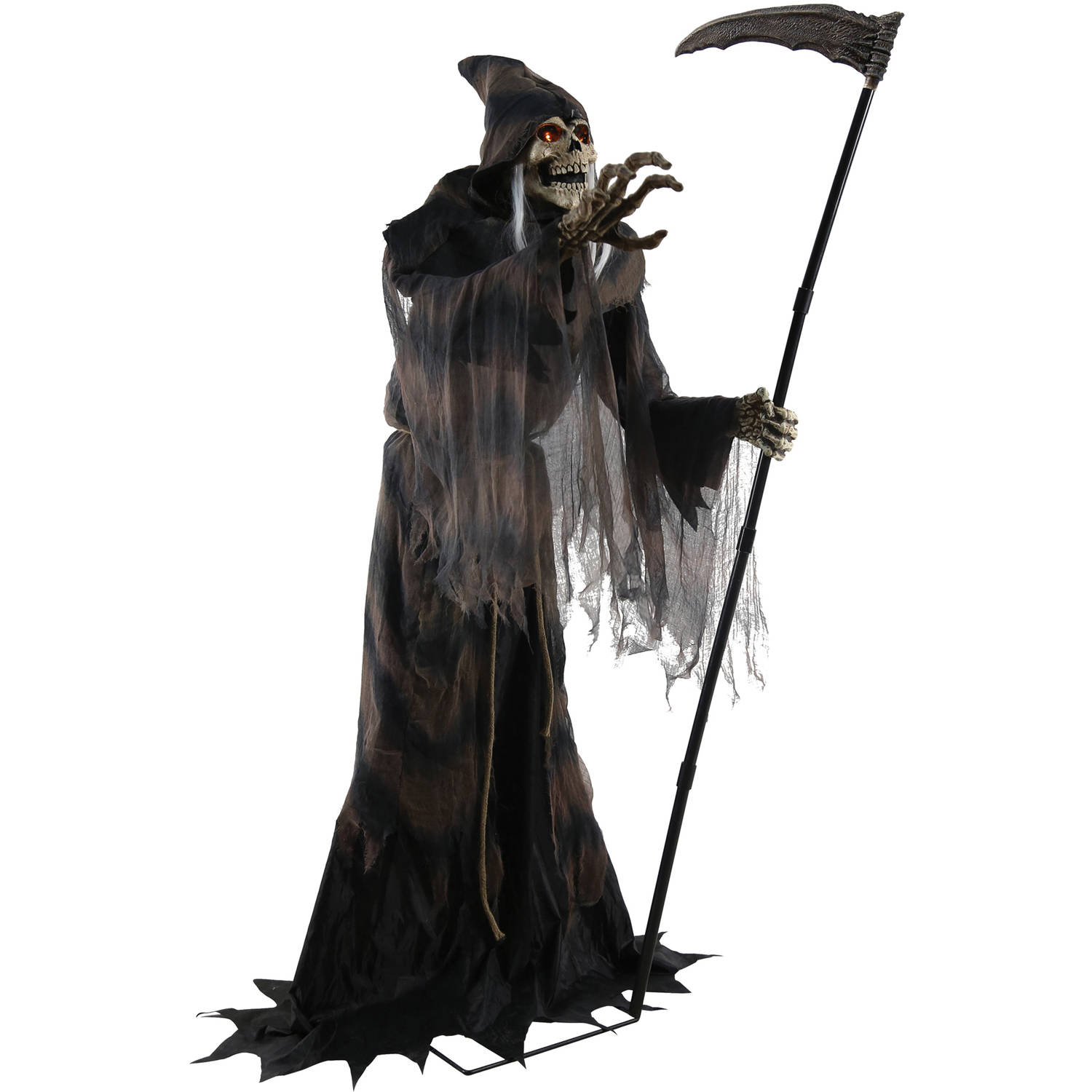 lunging reaper animated prop halloween decoration walmartcom - Animated Halloween Decorations