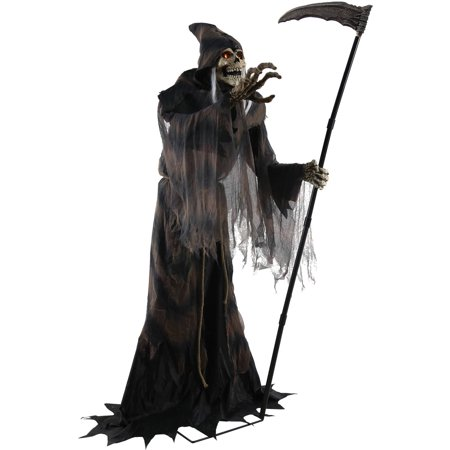 Lunging Reaper Animated Prop Halloween Decoration