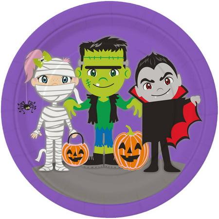 Halloween Paper Plates (7