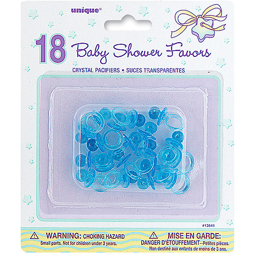 Party Favors - Baby Pacifiers 18-Pack, Blue