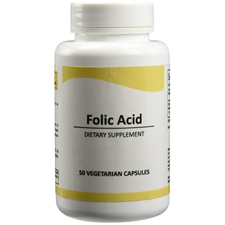 Pure Science Folic Acid 1000Mcg   Daily Health Regimen   Prenatal Care For Women  Supports Cardiovascular Health   Cell Regeneration   100 Vegetarian Capsules