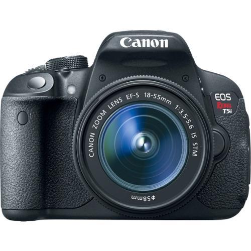 Canon EOS Rebel T5i 18MP Digital SLR Camera with 18-55mm IS STM Lens