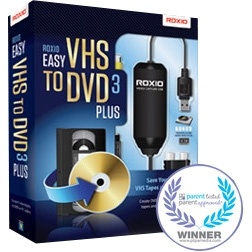 """Corel 251000 Corel Easy VHS to DVD v.3.0 Plus - Complete Product - 1 User - CD/DVD Burning - Standard Retail - PC - English"""