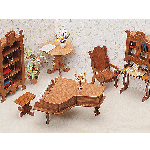 Dollhouse Furniture Kit, Library