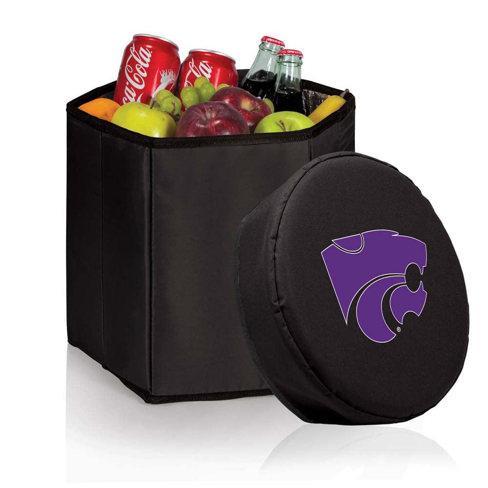 Kansas State Bongo Cooler / Seat (Black)