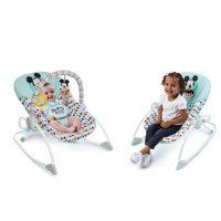 c41f9ae91 Disney Baby Mickey Mouse Infant to Toddler Rocker Seat - Happy Triangles