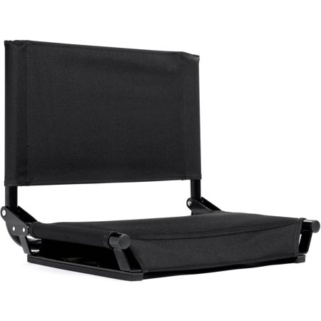 Cascade Mountain Tech Wide Stadium Seat Black