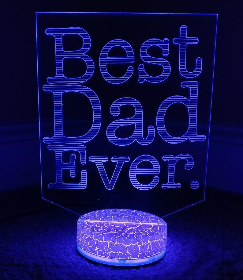 Wonder Woman 3D Night Light Color Changing Illusion Lamp Fantasy Birthday Gift