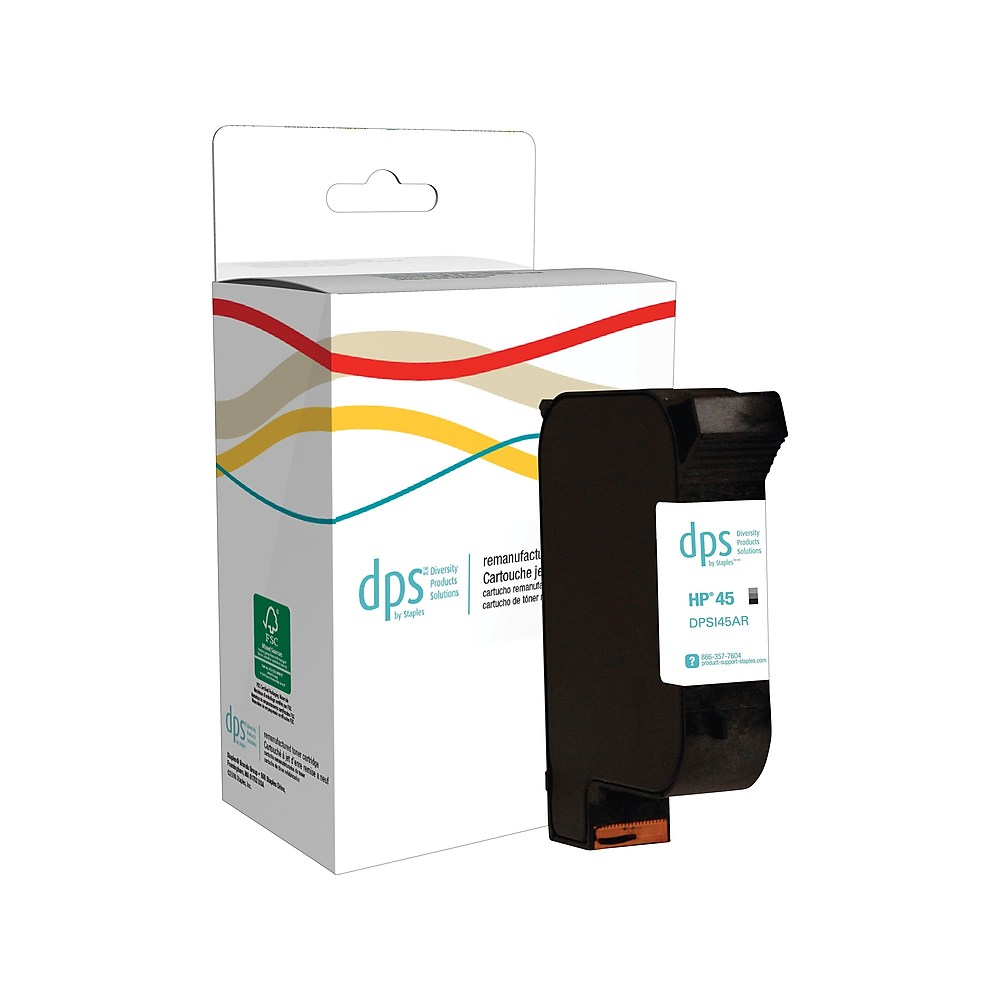 DPS by Staples Remanufactured Ink Cartridge Replacement ...