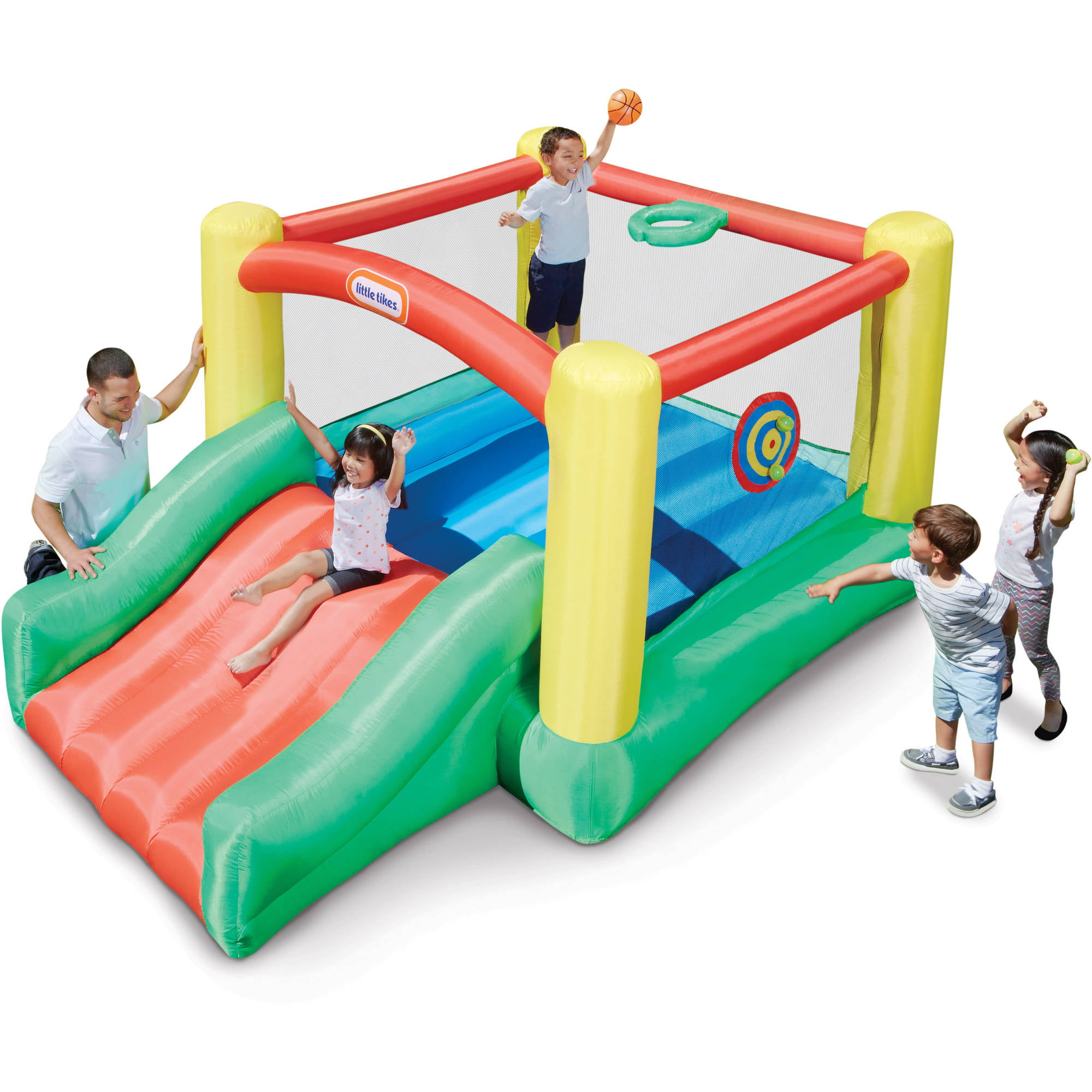 Little Tikes Dunk 'n Toss Inflatable Bouncer