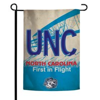 "North Carolina Tar Heels WinCraft North Carolina State License Plate Two-Sided 12"" x 18"" Garden Flag"