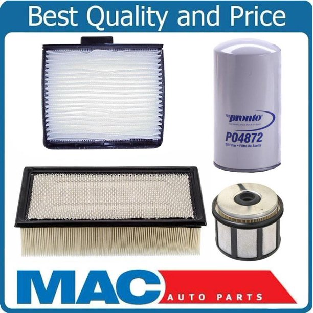 Fits For 99 03 Ford 7 3 Powerstroke Diesel Engine Air Cabin Air Fuel Filters 4pc Walmart Com Walmart Com