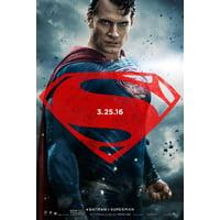 Batman v Superman: Dawn of Justice (2016) 27x40 Movie Poster