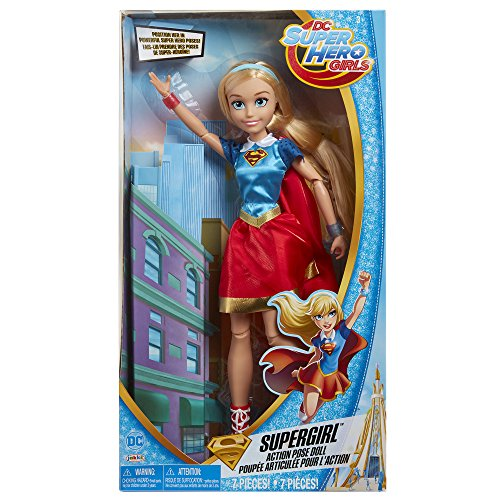 DC Super Hero Girls Supergirl Action Pose Doll