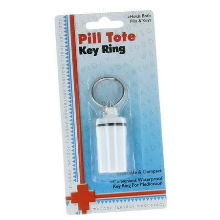 Pill Keychain Porte étanche Voyage récipient