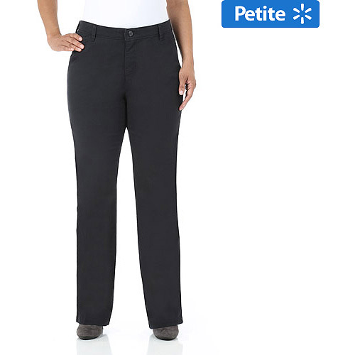 Riders by Lee Women's Plus-Size Petite Comfort No-Gap Waist Casual Pants