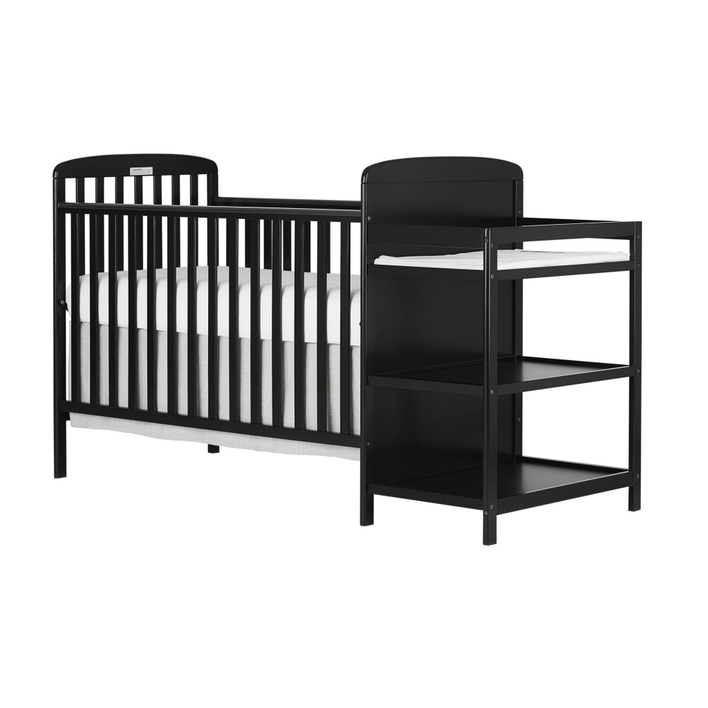4 In 1 Baby Crib And Changing Table Combo Furniture Full