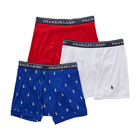 7c154af24ad Polo Ralph Lauren - Classic Cotton Boxer Brief 3-Pack (Small