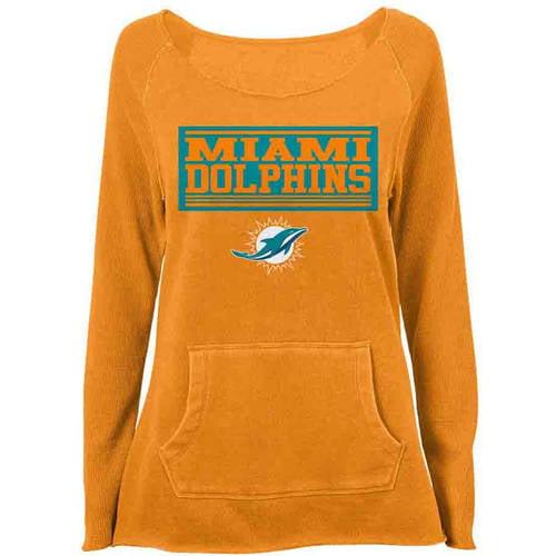 NFL Miami Dolphins Girls Fleece Top