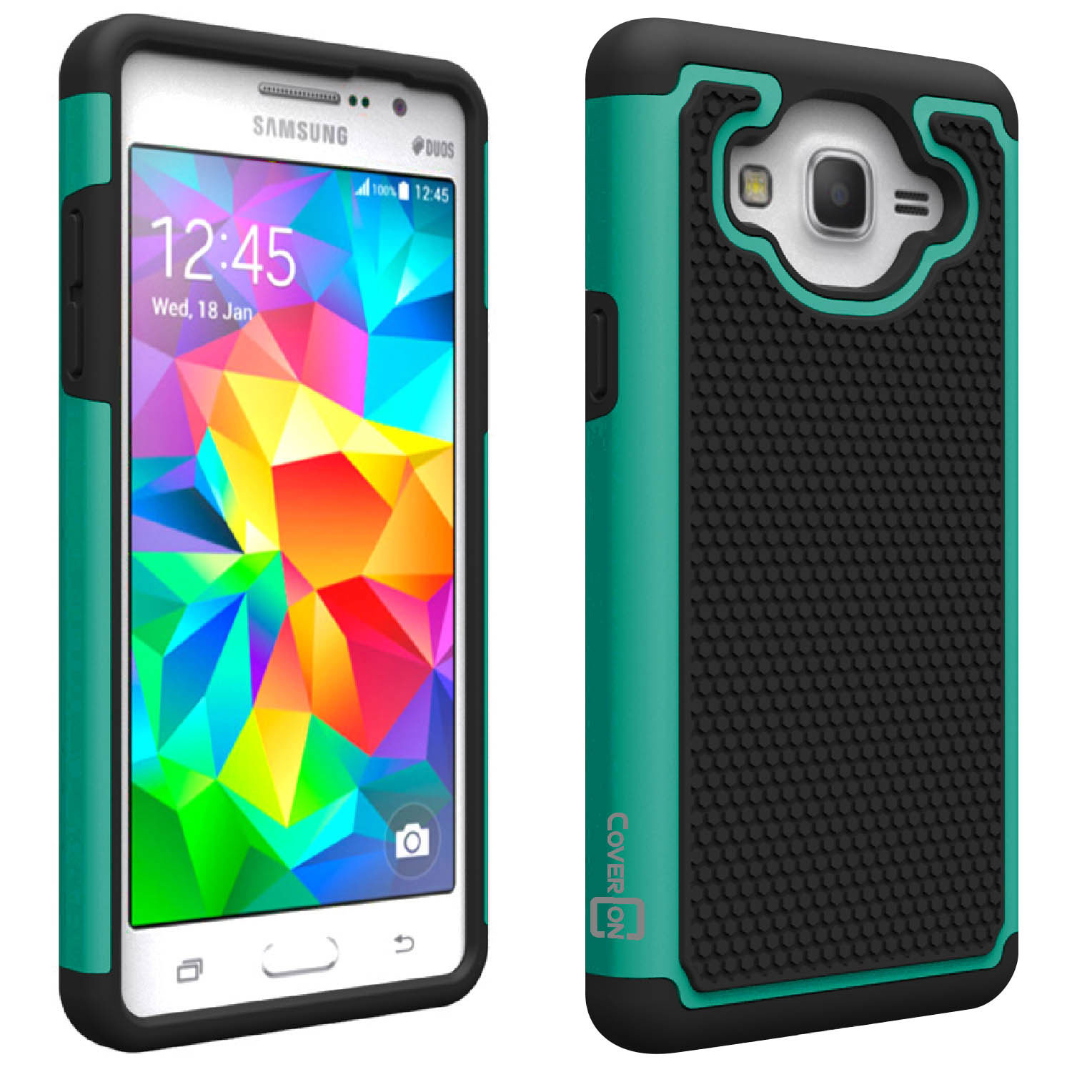 newest 2f53b a8ddb CoverON Samsung Galaxy On5 (2015 Version) Case, HexaGuard Series Hard Phone  Cover