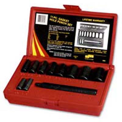 Lang Tools 950 Gasket Hole Punch Set - 11 Piece