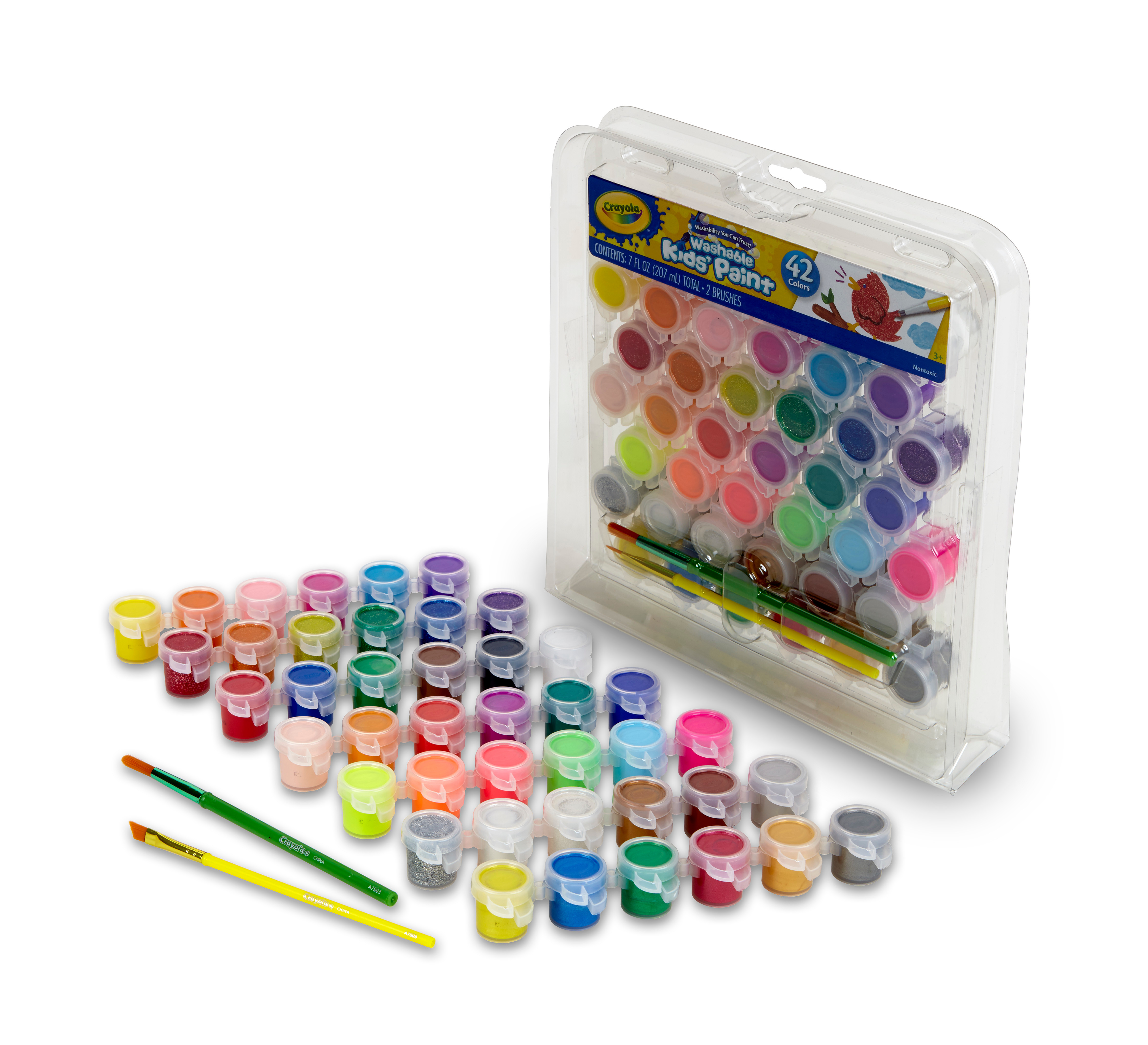Hobby World Tower Of Paints 10 Paints Bright Neon Metallic And Glitter 3+