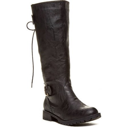 Carrini CA Collection Women's Fashion Back Lace-Up Boots