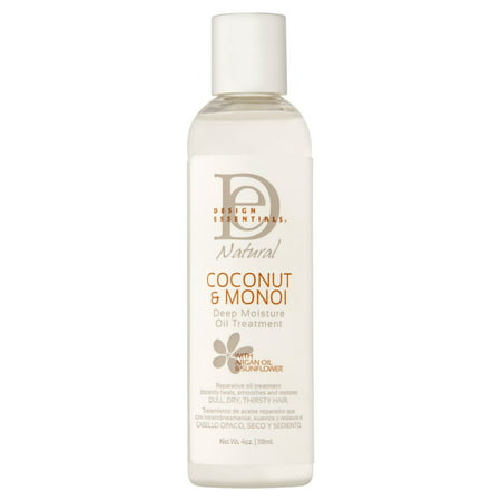 Essential Natural - Design Essentials Natural Coconut & Monoi Deep Moisture Oil Treatment, 4 oz