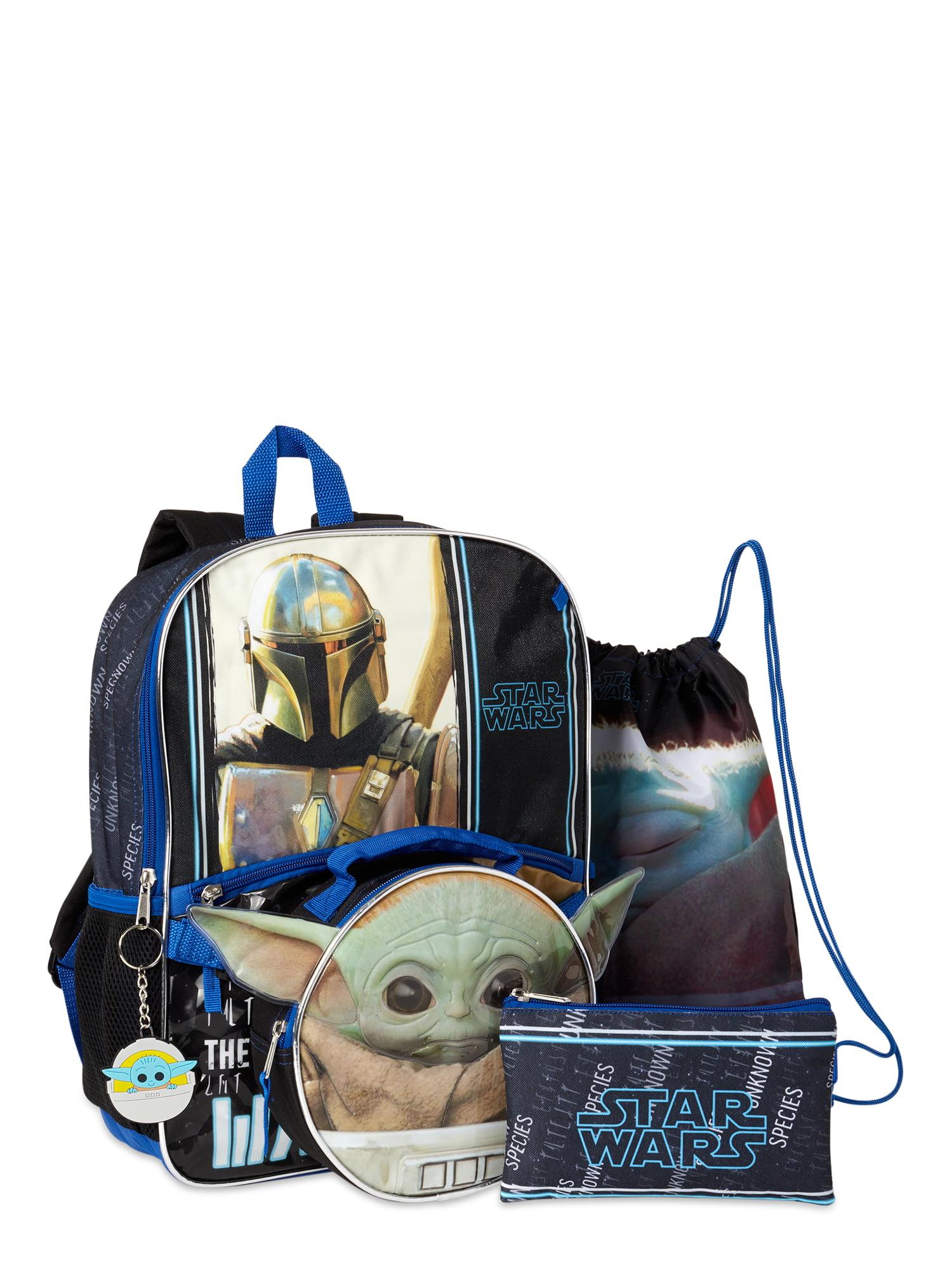 Star Wars Baby Yoda 5 Piece Backpack Set Brickseek