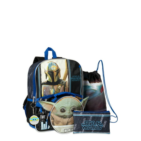 Star Wars Baby Yoda 5 Piece Backpack Set