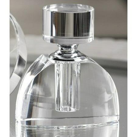 Zodax Modern Morocco Glass Bell Shape Perfume Bottle ...