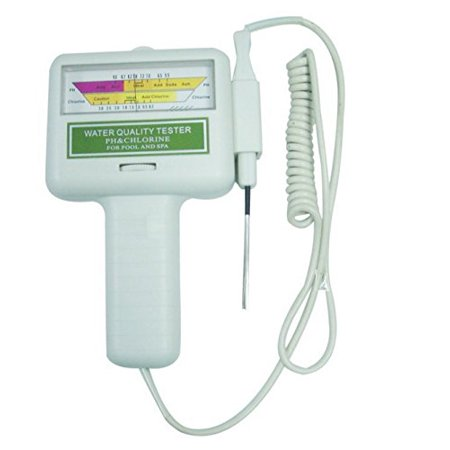 Dragonpad? Water Quality PH/CL2 Chlorine Tester Level Meter for Swimming Pool