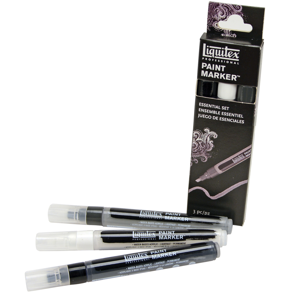Liquitex Professional Paint Marker Set-Essential