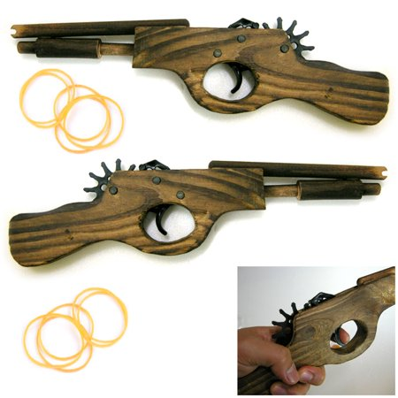 2 Wooden Pistol 12