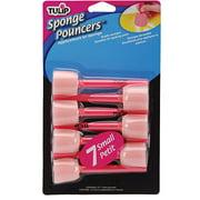 Tulip Sponge Pouncers, 7/pkg