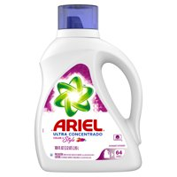 Ariel Ultra Concentrated Color & Style Liquid Laundry Detergent, 100 fl oz 64 loads