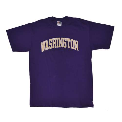 Washington Huskies T-shirt - Arch Washington - (Washington Huskies Purple Arch)
