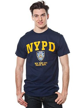 deb38a4f7 Product Image Adult Nypd Yellow Printed Tee