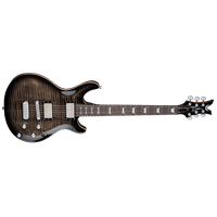 Dean Icon Flame Top Electric Guitar - Charcoal Burst