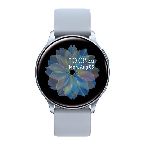 SAMSUNG Galaxy Watch Active 2 Aluminum - 40mm Silver Bluetooth - SM-R830NZSAXAR