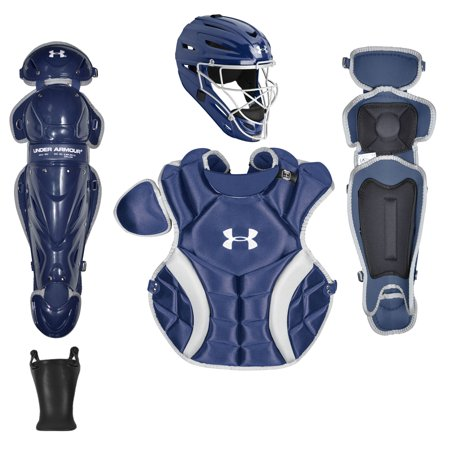 Blue Catchers - Under Armour PTH Victory Series NOCSAE Youth Baseball Catcher's Package
