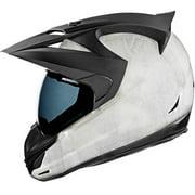 Icon Variant 2012 Construct Dual Sport Helmet White