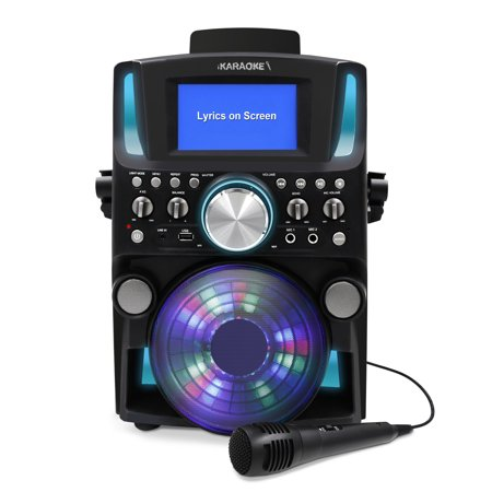iKaraoke Bluetooth CD&G Karaoke System with 5
