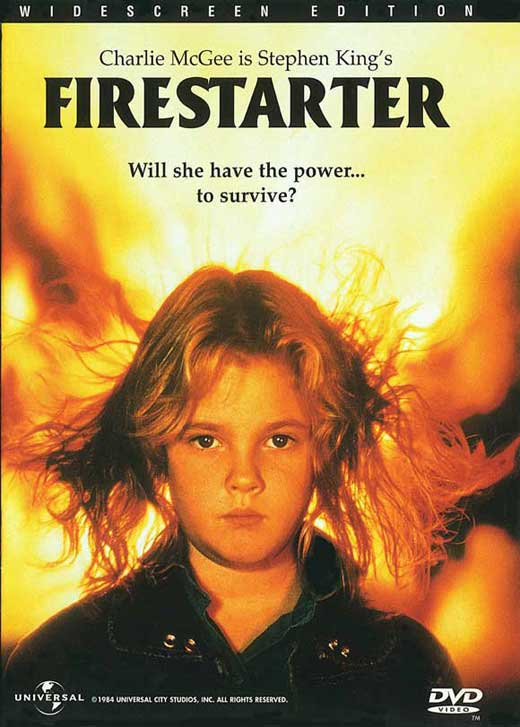 Firestarter POSTER Movie B (27x40) by Pop Culture Graphics