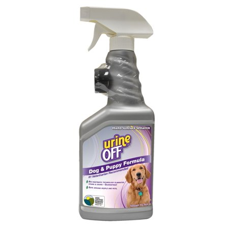 Urine Off Dog and Puppy Formula With Carpet Applicator Cap, 16