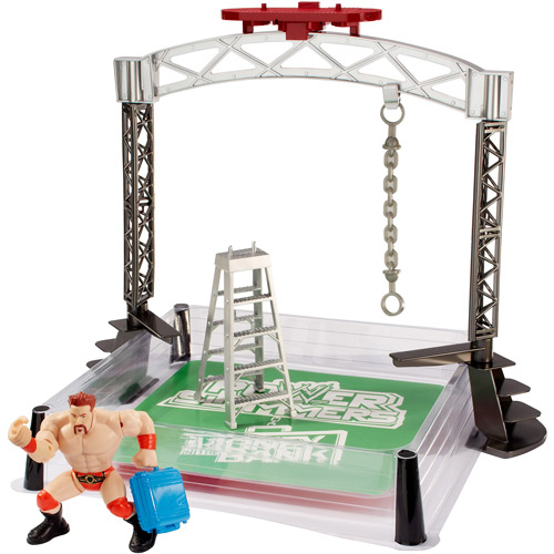 WWE Wrecking Brawl Play Set