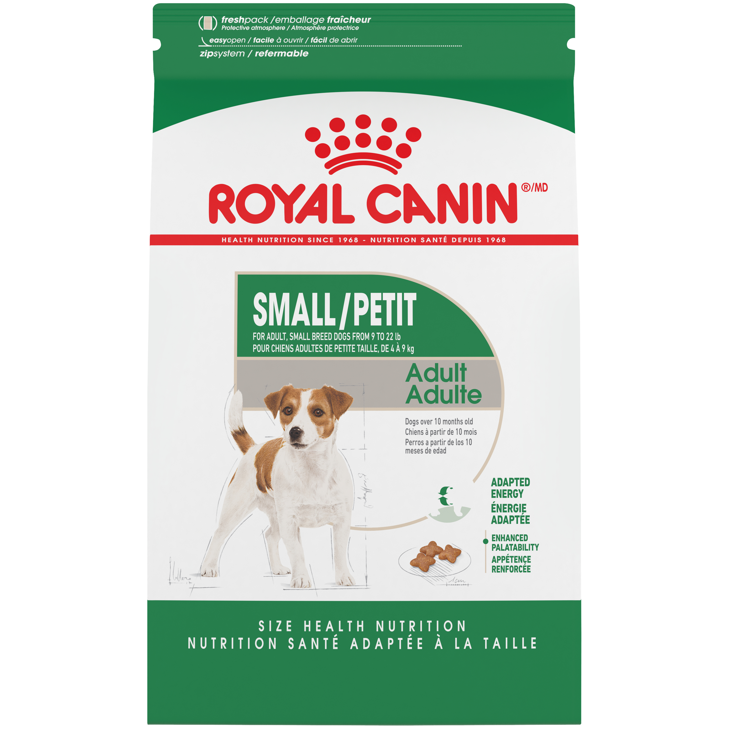Royal Canin Mini Breed Adult Dry Dog Food, 2.5 lb