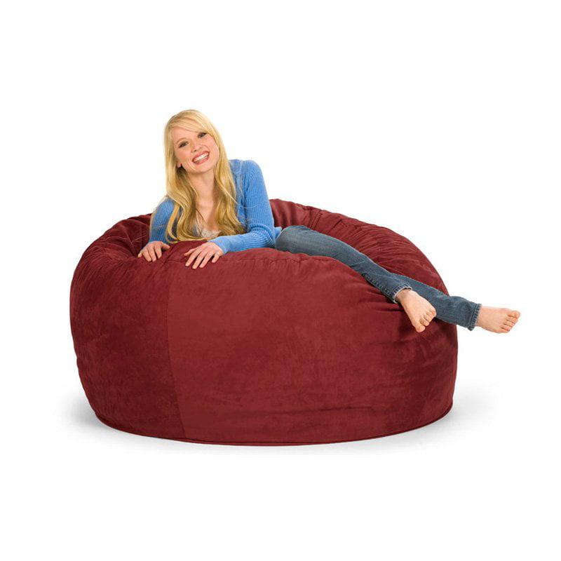 Relax Sack 5 ft. Microsuede Foam Bean Bag Sofa